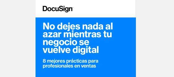Lee el white paper sobre las ocho mejores prácticas digitales para ventas
