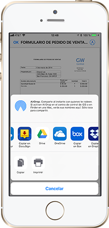 Legally-binding documents esigned on your mobile device