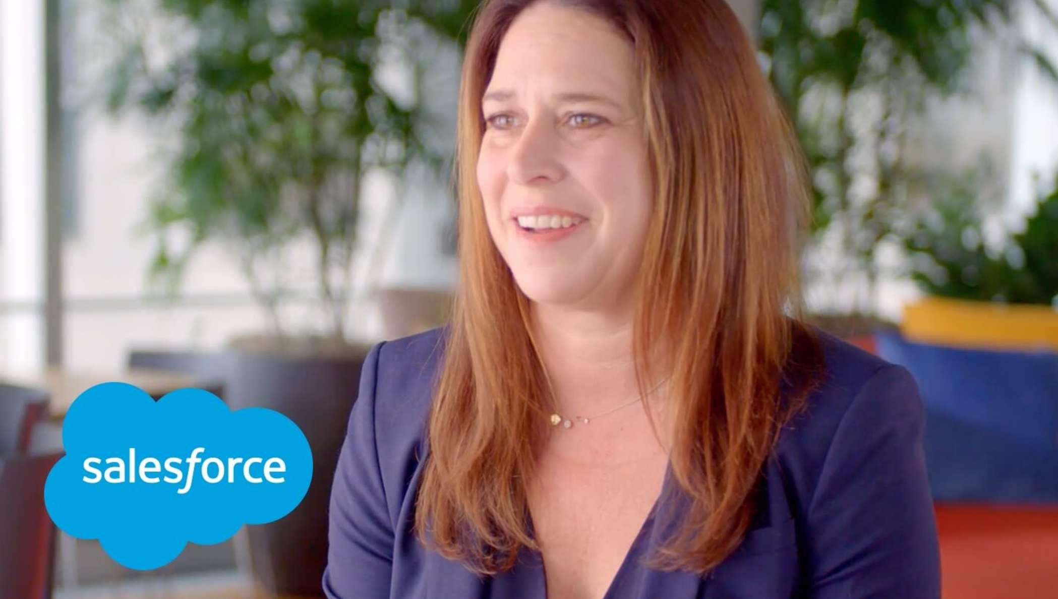 Meredith Schmidt, EVP y GM de Salesforce Essentials y SMB